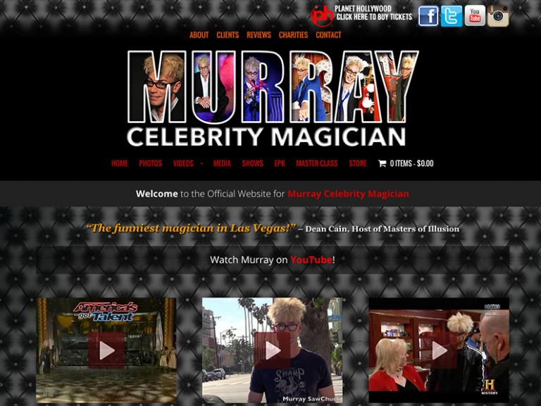 Murray Celebrity Magician